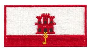 Gibraltor Flag