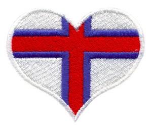 Faroe Islands Flag Heart