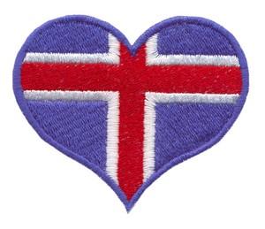 Iceland Flag Heart