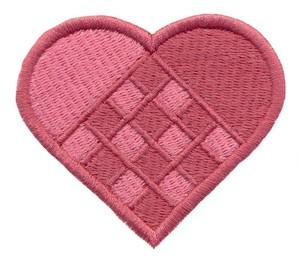 Woven Heart ( Julgranskorg )