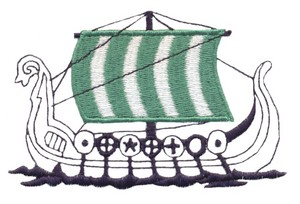 Viking Ship #1