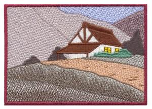 Alpine House Scene #2