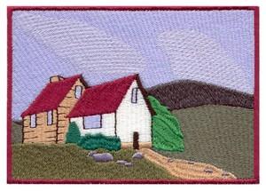 Hillside House Scene #2