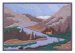 River Valley Scene