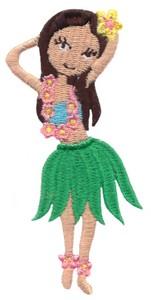 Hula Girl (posing)