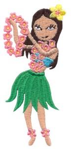 Hula Girl (lei offering)