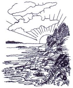 Seaside Cliffs Landscape ( small )