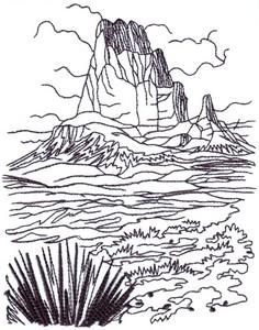 Southwest Desert U.S.A. Landscape ( large )