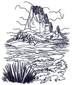 Southwest Desert U.S.A. Landscape ( small )