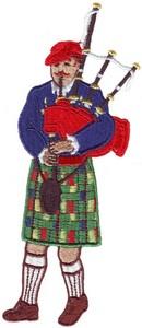 Scots Bagpiper