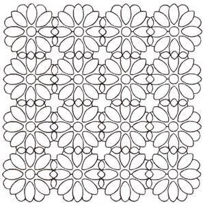 Blossom - Sashiko Style (larger)