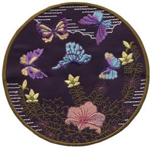 Fluttering Butterflies - Sashiko Picture