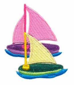 Toy Sail Boat