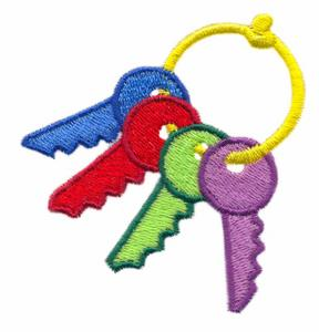 Kids Toy Keys