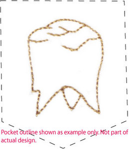 Tooth Fairy Tooth ( Pillow )