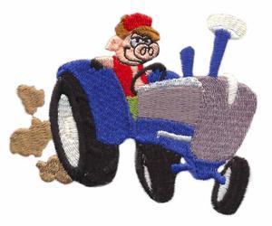 Tractor Cruising Pig