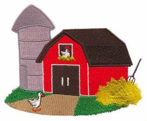 Barn Yard Scene