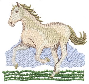 Running Free Horse