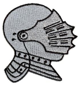 Knight's helmet -smallest