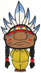 Tiny Chief Standing