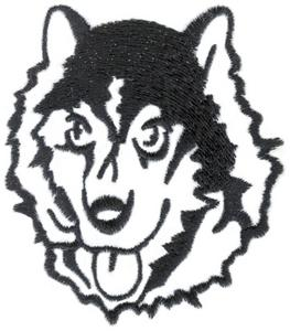 Dog Head Outline