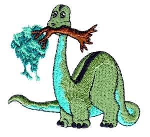 Dino Eating a Tree