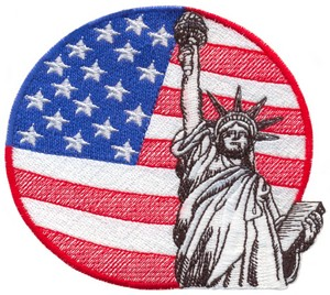 Statue of Liberty (Micro-embroidery)
