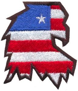 Eagle Head (Micro-embroidery)