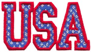USA (Micro-embroidery)
