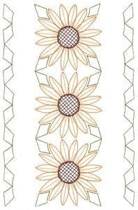 Three Sunflowers (MacroHoop)