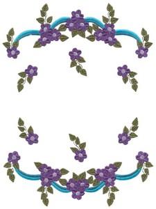 Flowers and Ribbons (MacroHoop)