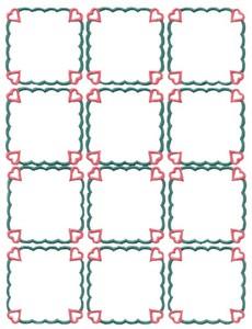 Heart Squares (MacroHoop)