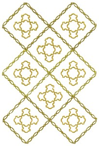 Diamond Pattern (MacroHoop)