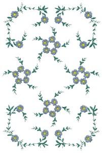 Floral Vines (MacroHoop)