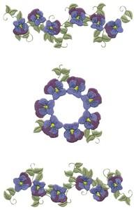 Pansies (MacroHoop)