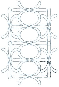 Floral Pattern (MacroHoop)