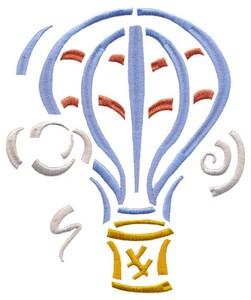 Hot Air Balloon (Square Hoop)