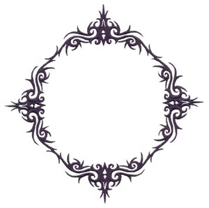 Decorative Motif  (Square Hoop)