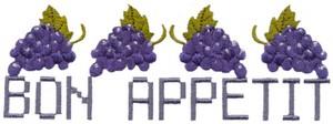 Bon Appetit with Grapes