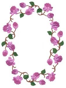 Forget Me Not (flower frame)
