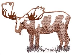Moose ( Trapunto )