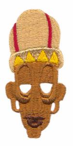 African Tribal Chief Mask