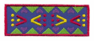 Triangle Pattern Rug Applique