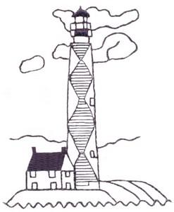 Diamond Lighthouse (single colour)