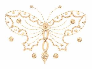 Butterfly (Whitework)