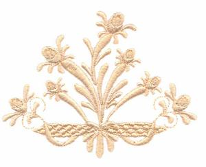 Rosebuds and Ribbons (Whitework)