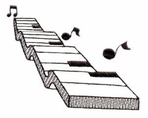 Keyboard ( Trapunto )