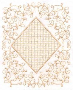 Monogram Square Large