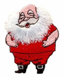 Fringed Beard Santa