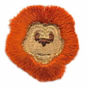 Fringed Lion Face